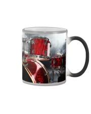 Drummer - Red Drum Set Color Changing Mug thumbnail