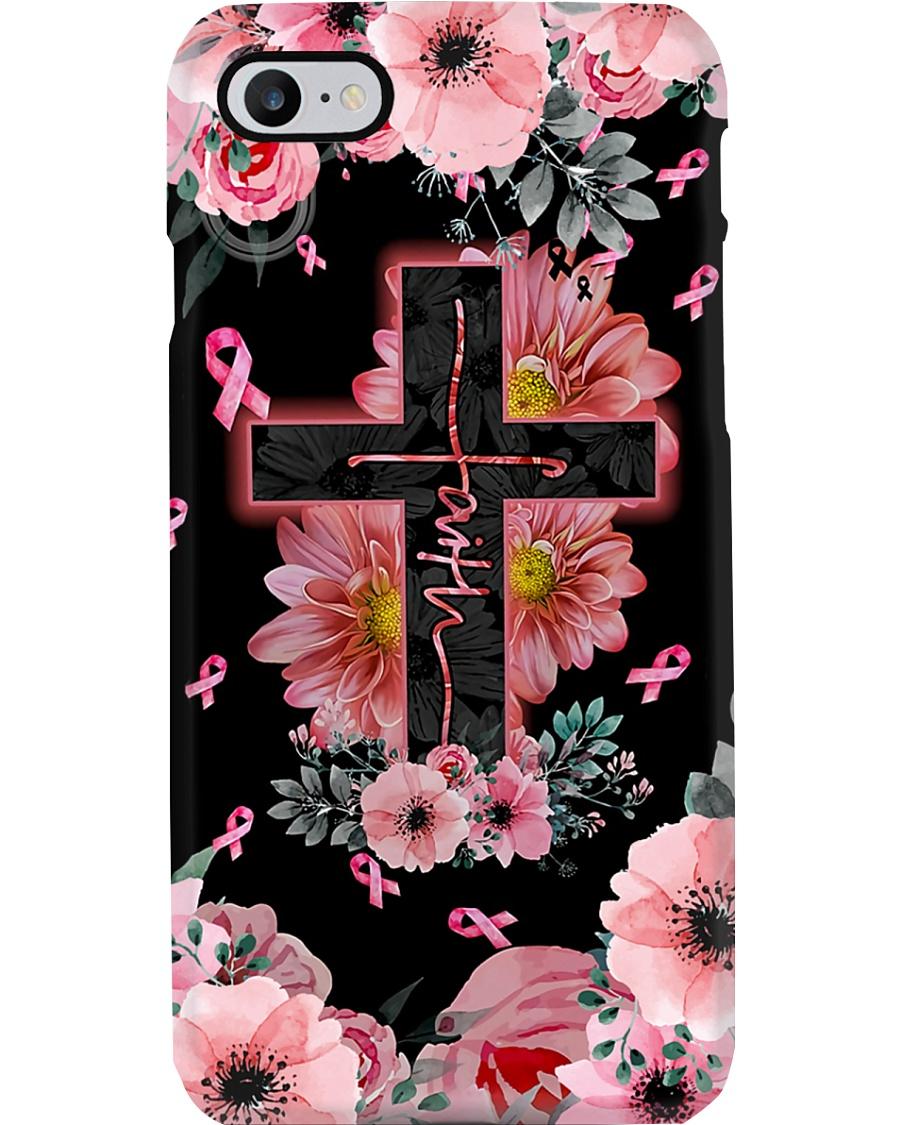 Faith Hope Love Breast Cancer Phone Case