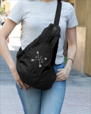 Limited Edition - Selling Out Fast Sling Pack garment-embroidery-slingpack-lifestyle-03