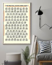 The Practical Guitar Chord Chart 11x17 Poster lifestyle-poster-1