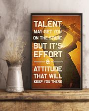 Saxophone - Talent may get you on the stage 11x17 Poster lifestyle-poster-3