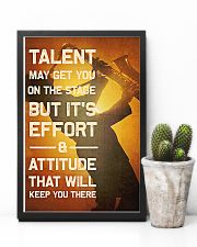 Saxophone - Talent may get you on the stage 11x17 Poster lifestyle-poster-8