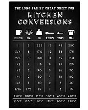 Baker Kitchen conversions 16x24 Poster front