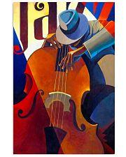 Contrabass Man Art 11x17 Poster front