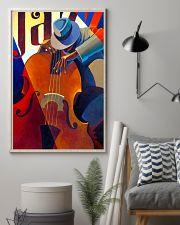 Contrabass Man Art 11x17 Poster lifestyle-poster-1