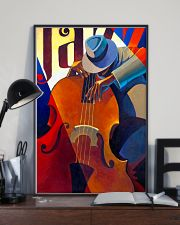 Contrabass Man Art 11x17 Poster lifestyle-poster-2