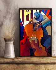 Contrabass Man Art 11x17 Poster lifestyle-poster-3