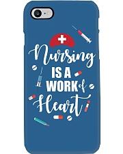 Nurse Nursing Is A Work Of Heart Phone Case i-phone-7-case