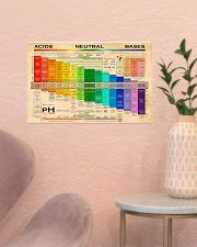 Chemistry pH Scale 17x11 Poster poster-landscape-17x11-lifestyle-22