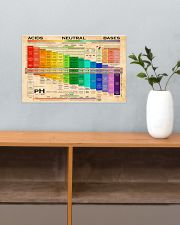 Chemistry pH Scale 17x11 Poster poster-landscape-17x11-lifestyle-24