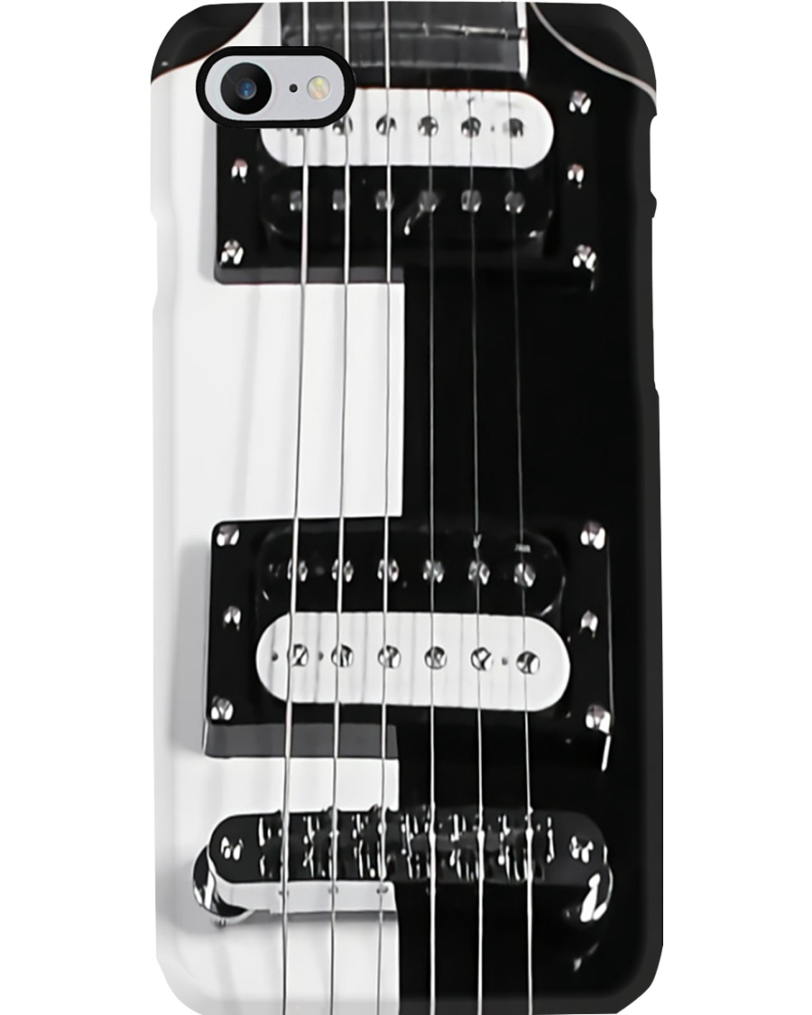 Guitar Black And White Image Phone Case