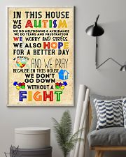 Autism Awareness In this house We do Autism Poster 24x36 Poster lifestyle-poster-1