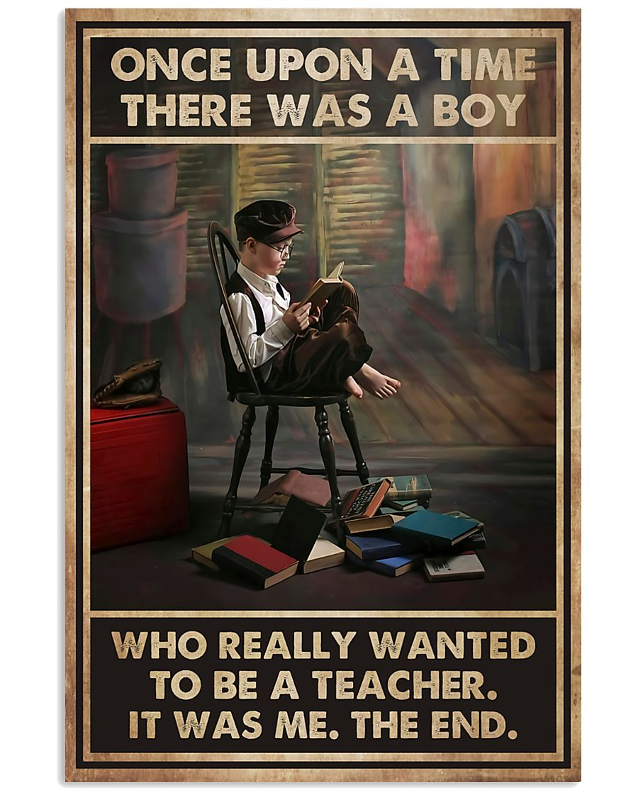 Teacher There Was A Boy 11x17 Poster