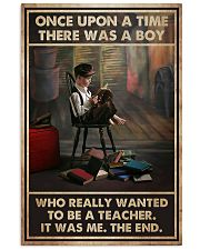 Teacher There Was A Boy 11x17 Poster front