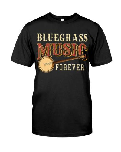 Bluegrass Music Forever Banjo