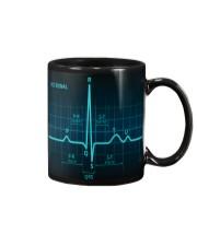 ECG Signal Cardiologist Mug front