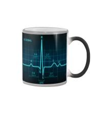 ECG Signal Cardiologist Color Changing Mug thumbnail