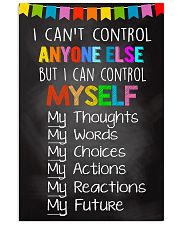Teacher I Can Control Myself  11x17 Poster front