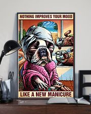 Hairdresser Nothing Improves Your Mood 11x17 Poster lifestyle-poster-2