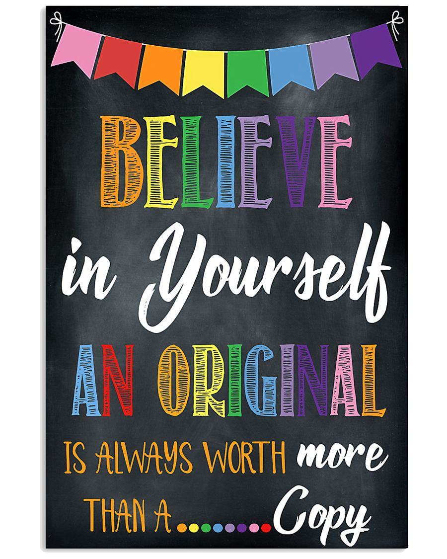 Social Worker Believe In Yourself 11x17 Poster