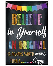 Social Worker Believe In Yourself 11x17 Poster front