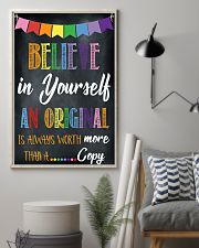 Social Worker Believe In Yourself 11x17 Poster lifestyle-poster-1