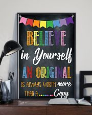 Social Worker Believe In Yourself 11x17 Poster lifestyle-poster-2