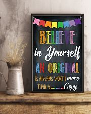 Social Worker Believe In Yourself 11x17 Poster lifestyle-poster-3