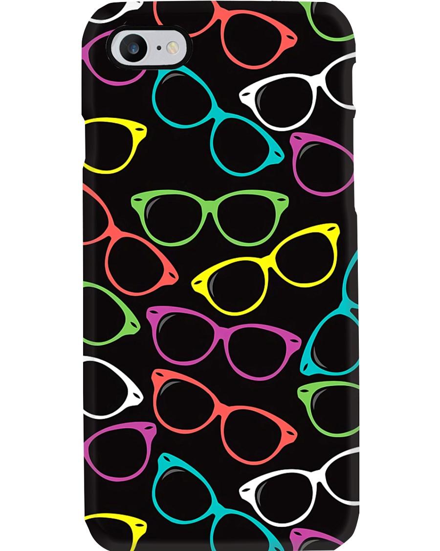 Colorful Glasses Optometrist  Phone Case