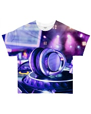 DJ Headphone All-over T-Shirt front