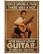 Boy Loved Guitar  11x17 Poster front