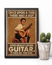 Boy Loved Guitar  11x17 Poster lifestyle-poster-8