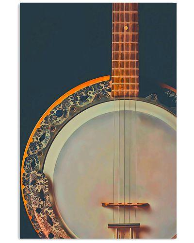 Banjo Instrument Art Print