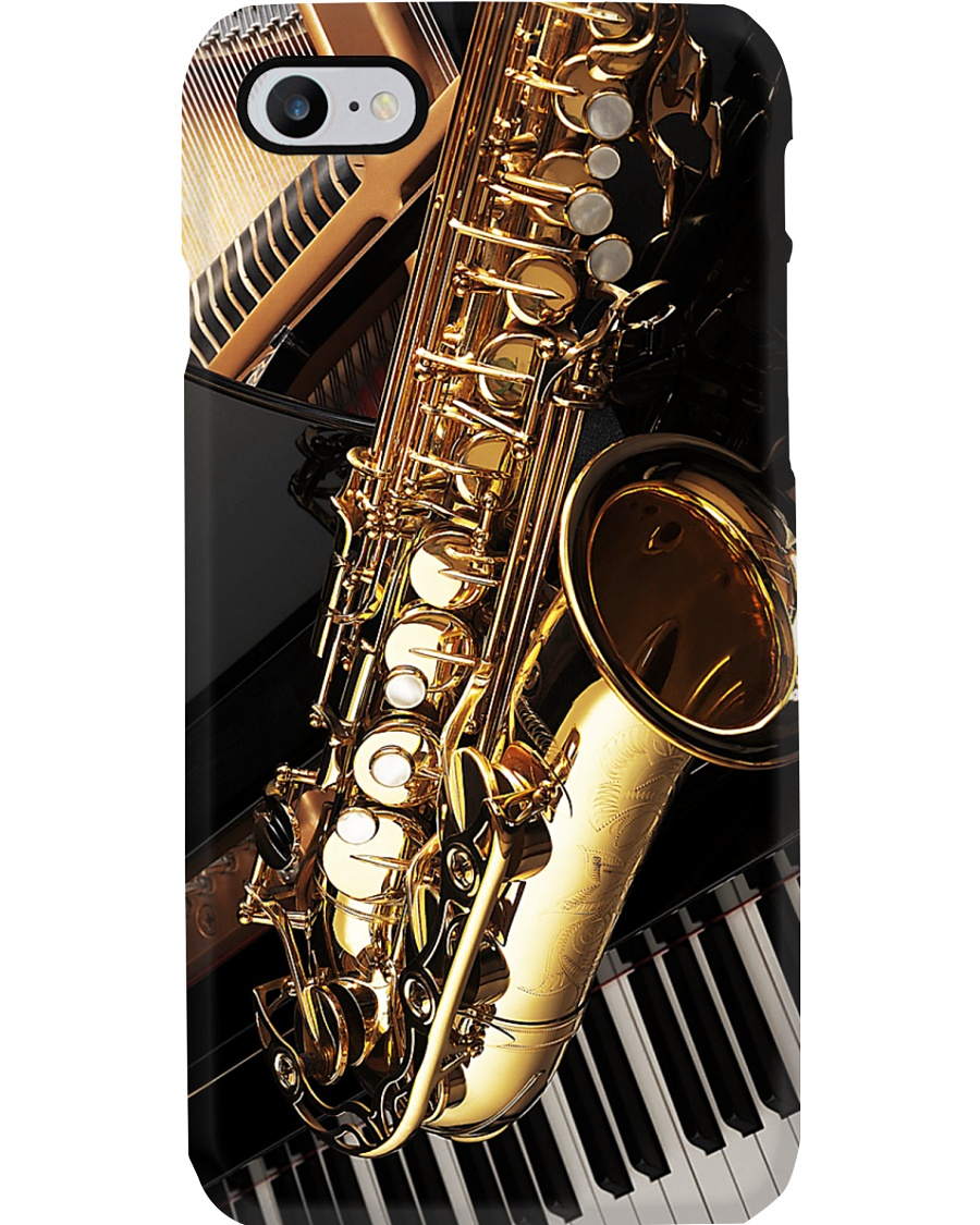 Saxophonist Saxophone And Piano Phone Case