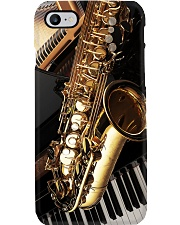 Saxophonist Saxophone And Piano Phone Case i-phone-8-case