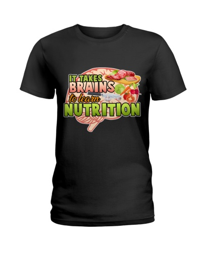It takes brains to learn nutrition