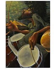 Drummer Man Art 11x17 Poster front