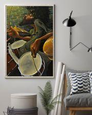 Drummer Man Art 11x17 Poster lifestyle-poster-1