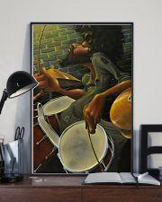 Drummer Man Art 11x17 Poster lifestyle-poster-2
