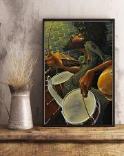 Drummer Man Art 11x17 Poster lifestyle-poster-3
