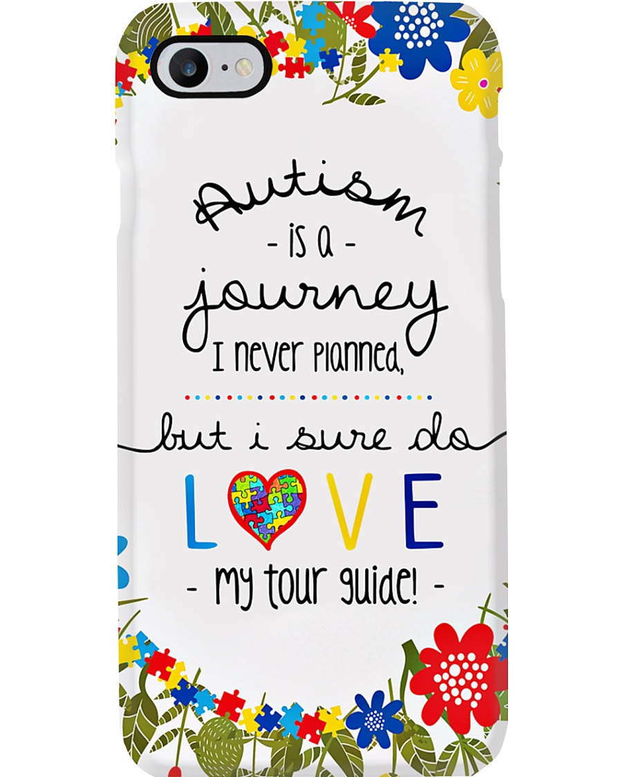 Autism Is A Journey I Never Planned Phone Case