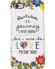 Autism Is A Journey I Never Planned Phone Case i-phone-7-case