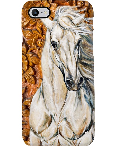 Horse Girl Horse Wood Carving Art