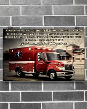 Paramedic While On This Ride Called Life 17x11 Poster poster-landscape-17x11-lifestyle-18