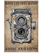 Photogreapher Adjust Your Focus  11x17 Poster front