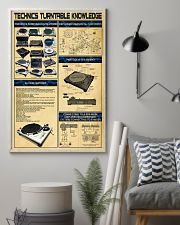 DJ Technics Turntable Knowledge 11x17 Poster lifestyle-poster-1