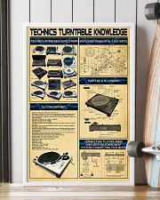 DJ Technics Turntable Knowledge 11x17 Poster lifestyle-poster-4