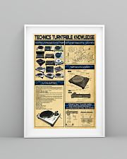 DJ Technics Turntable Knowledge 11x17 Poster lifestyle-poster-5