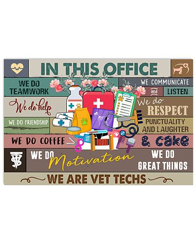 In this office Poster