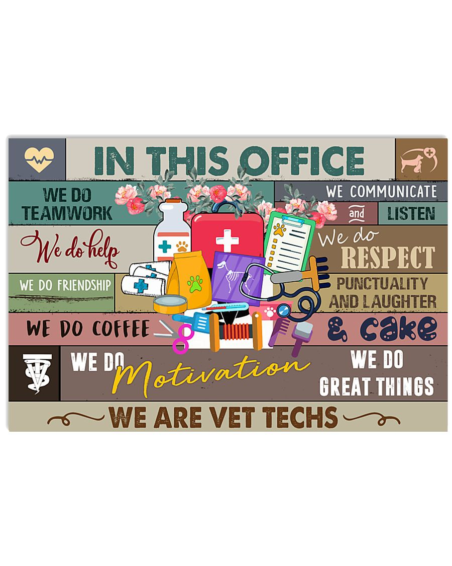 In this office Poster 24x16 Poster